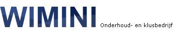 Wimini, onderhoud- en klusbedrijf